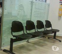 Fotos de tandem o sillas metalicas para sala de espera en Medellin