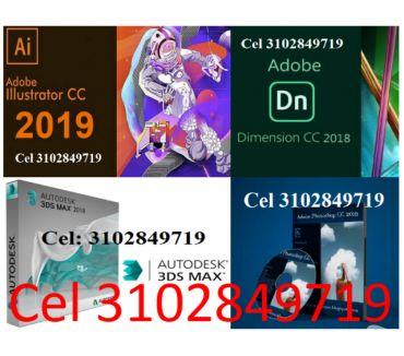 Fotos de Dimensión 2018, Illustrator 2019, Photoshop 2019, 3DS + 2018