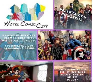 Fotos de HOTEL COMIC CITY