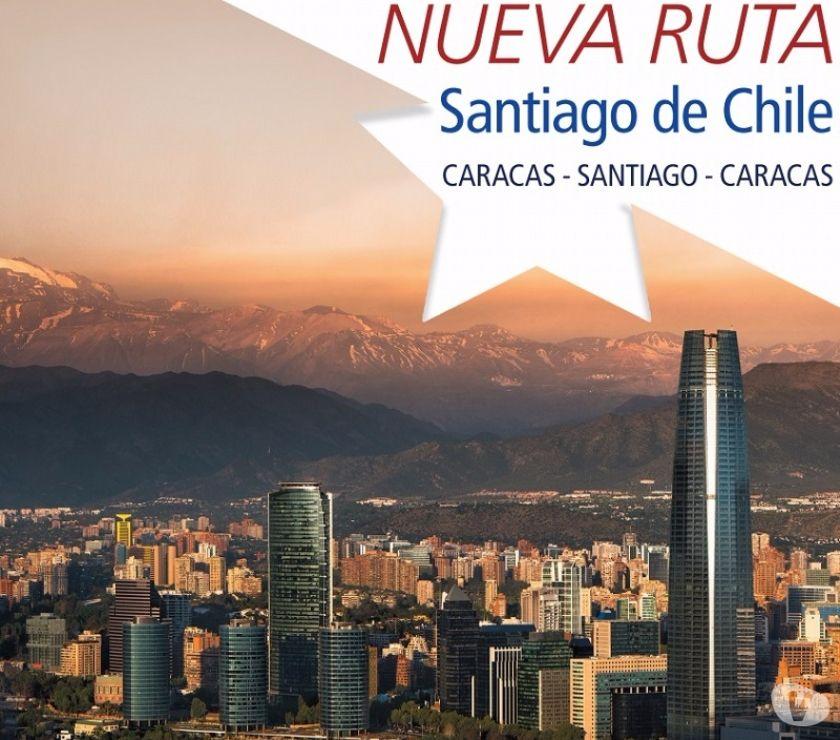 Fotos de Apertura de Vuelos a Santiago de Chile