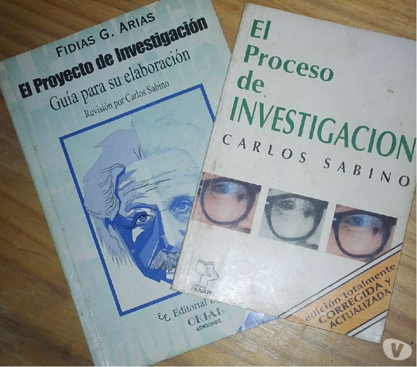 Fotos de Libros metodología y proceso de investigación