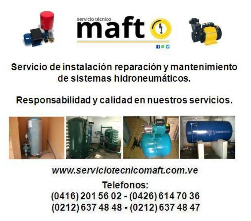 Fotos de Reparacion instalacion de hidroneumaticos de agua caracas