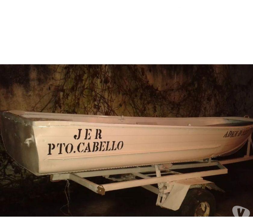 Fotos de vendo lancha de aluminio de 5 puestos ,13 pies, con trailer