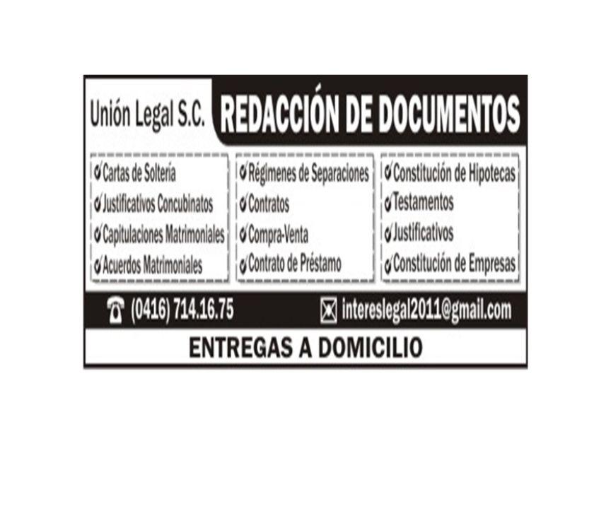 Fotos de Documentos y Justificativos