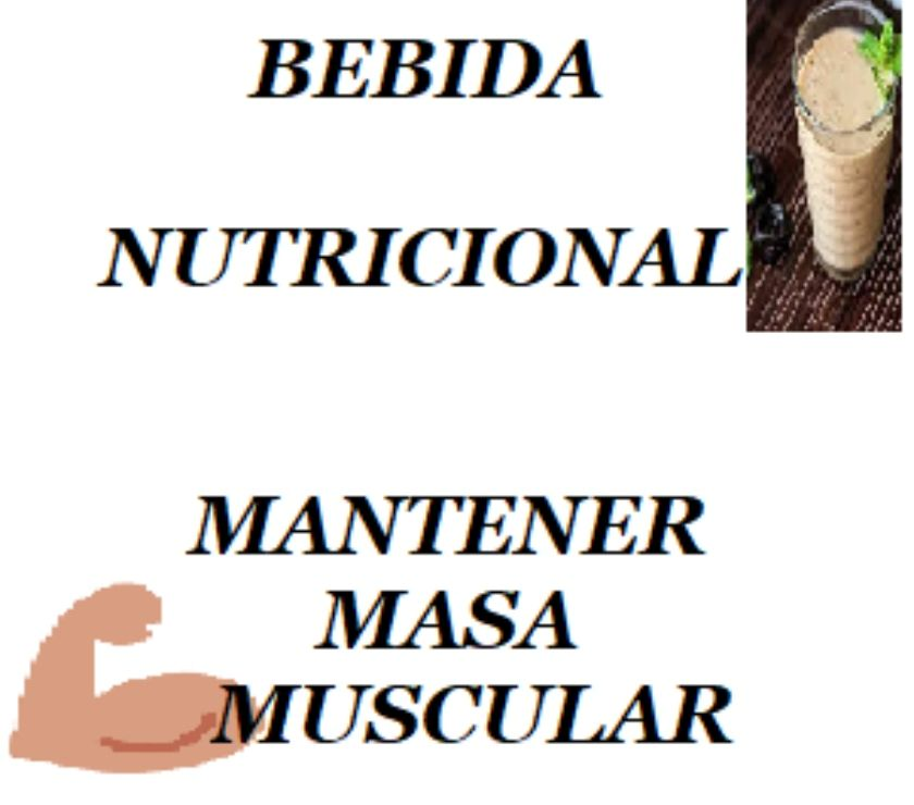 Fotos de BEBIDAS NUTRICIONALES