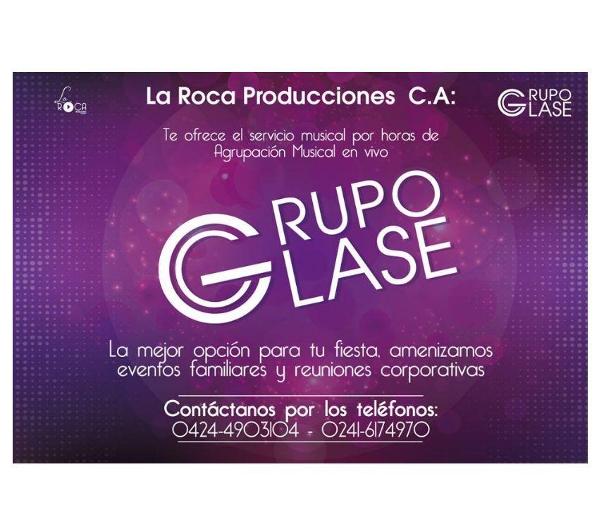 Fotos de GRUPO CLASE MUSICA BAILABLE LA ROCA PRODUCIONES, C.A