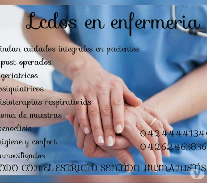 Fotos de profesionales de enfermería