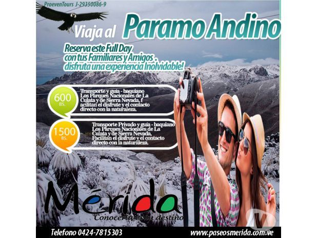 Fotos de FULL DAY Viajes Tour al Páramo Merideño