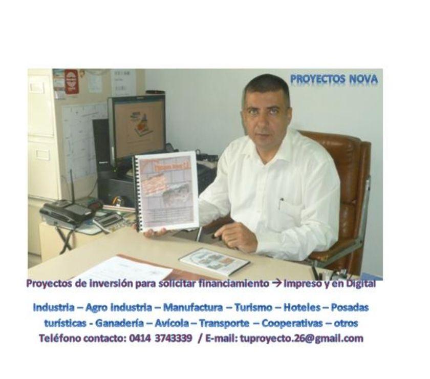 Fotos de PROYECTISTA & CONSULTOR EMPRESARIAL (BANCOS, BANDES, OTROS)