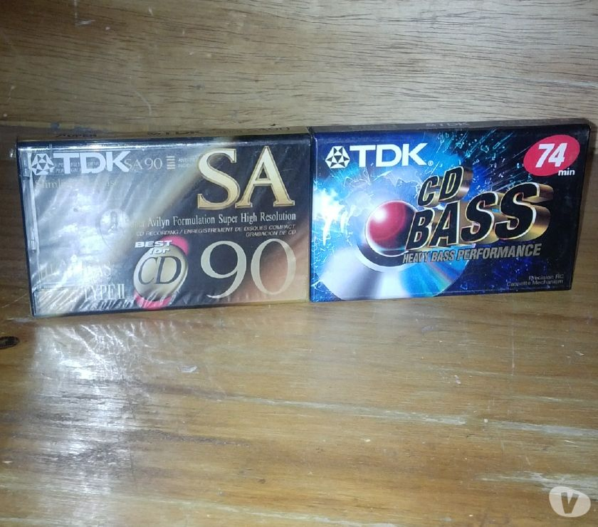 Fotos de Cassettes TDK En Venta