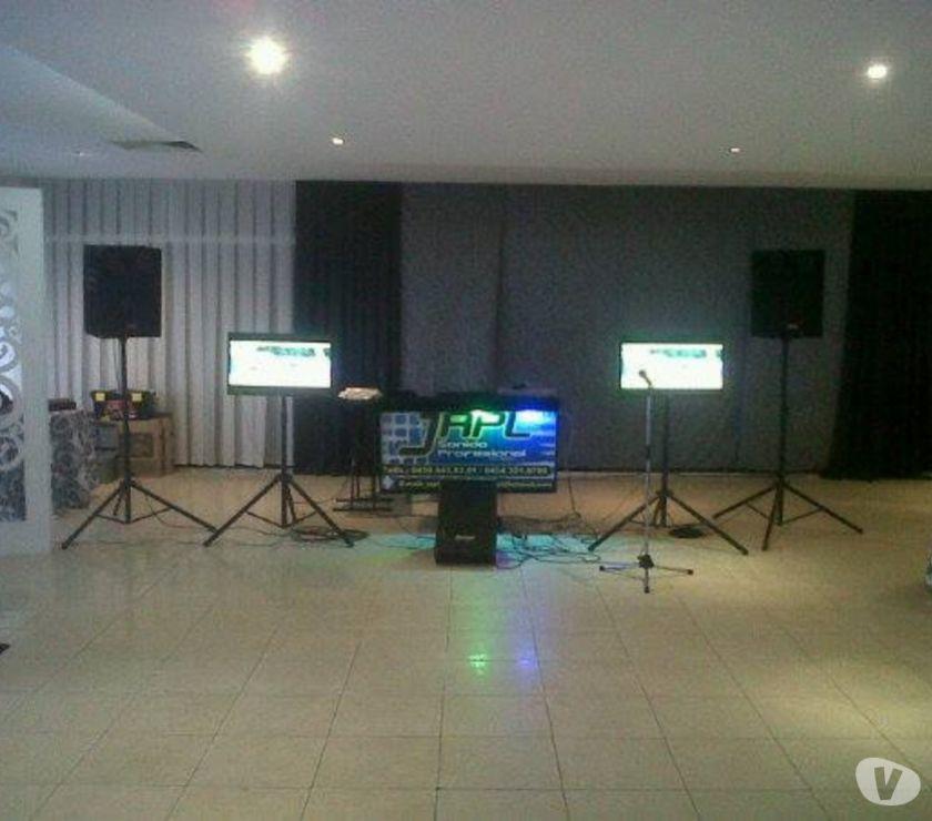 Fotos de alquiler de sonido profesional