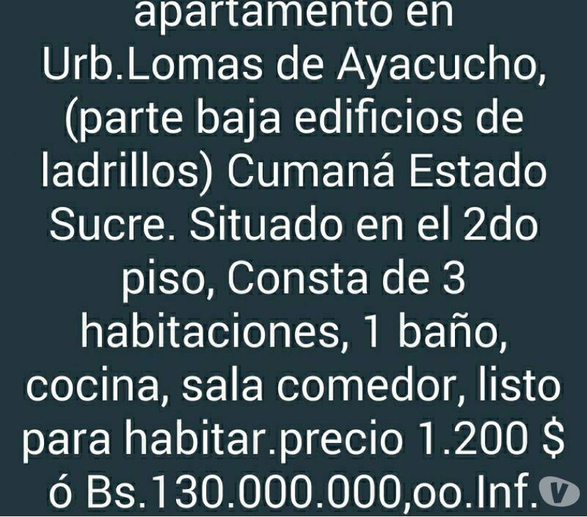 Fotos de en venta apto en Lomas de Ayacucho parte baja