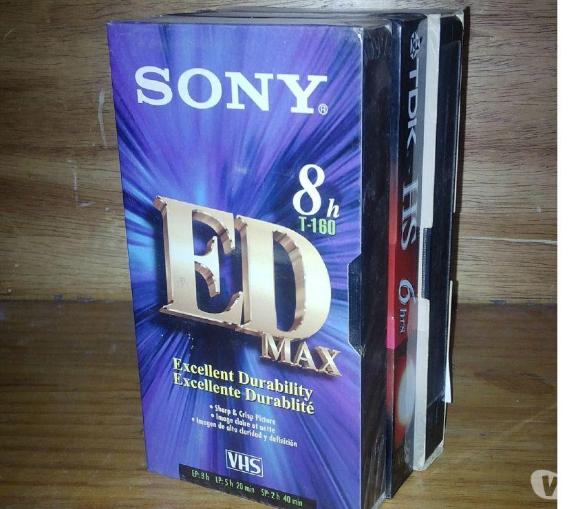 Fotos de TDK Sony cintas VHS