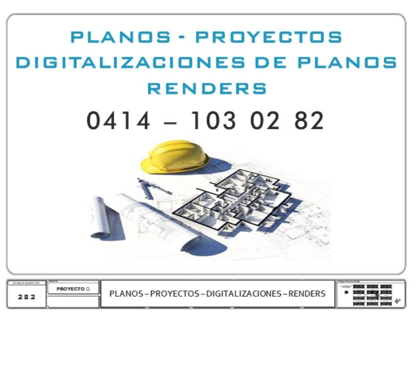 Fotos de RENDERS -PLANOS - PROYECTOS - TODO EN AUTOCAD