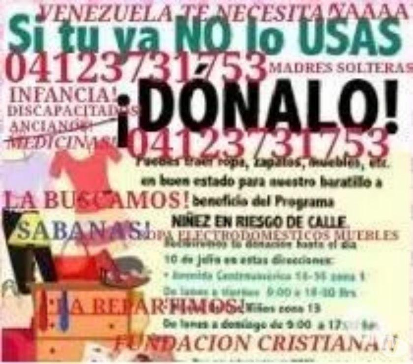 Fotos de ONG ACREDITADA DONA TU ROPA USADA BUSCAMOS DONACIONES