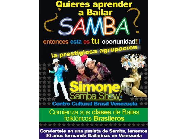 Fotos de Clases de Samba con SIMONE