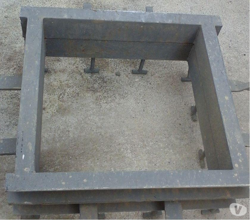 Fotos de tapa y base nueva para tanque subterráneo