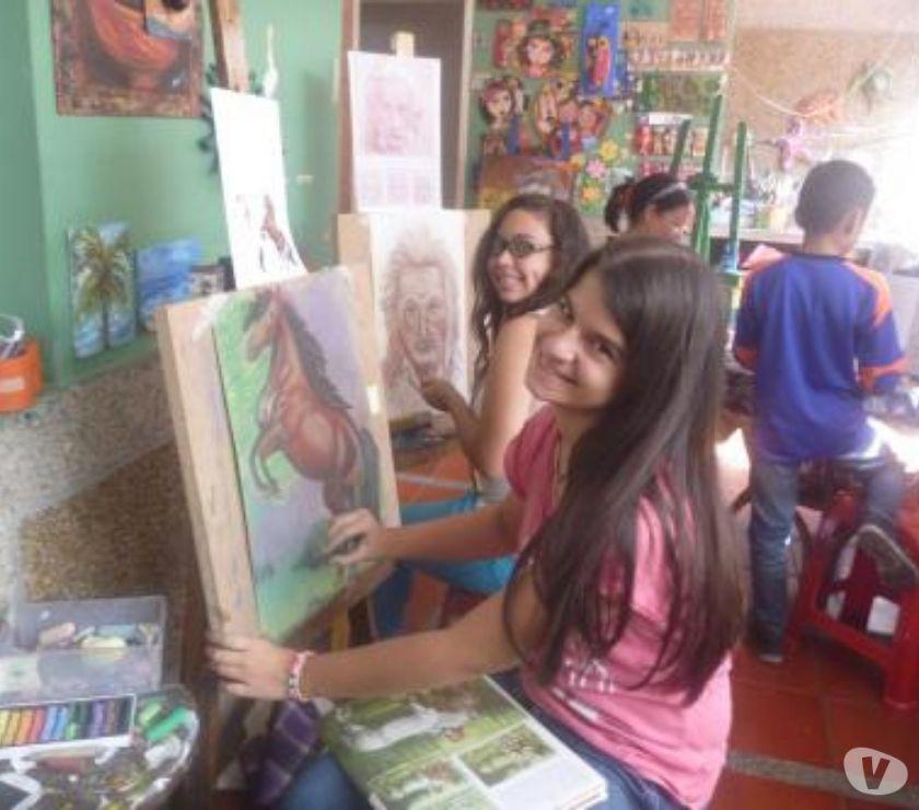 Fotos de clases de dibujo y pintura
