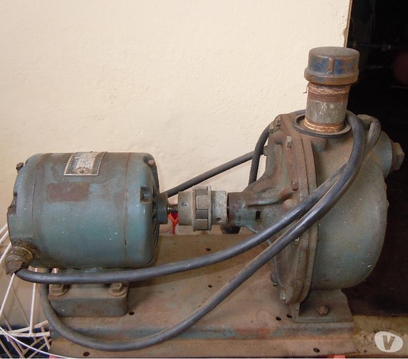 Fotos de Vendo Bomba de Agua usada Motor eléctrico marca Goulds Pump.