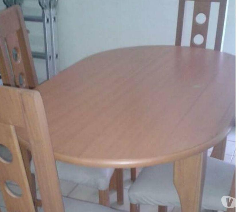 Fotos de juego de comedor, mesa ovalada 4 puestos