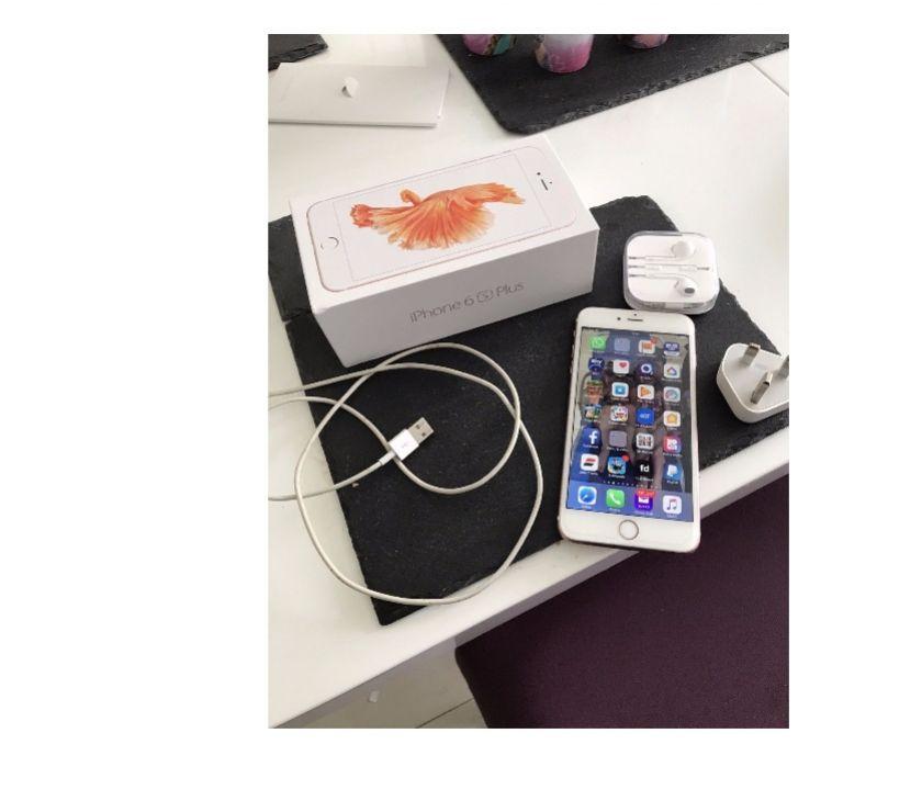 Fotos de Apple iphone 6s más 128gb oro rosa: rayrayneoson105@gmail